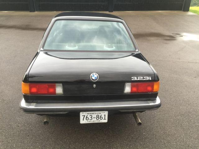 1981 E21 323i Euro Hardy  U0026 Beck Import Rare Car Ac