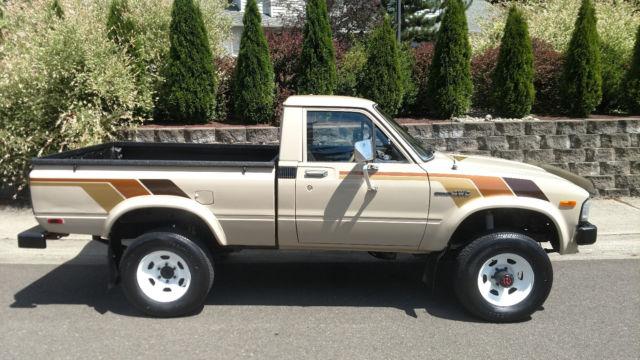 1982 Toyota Sr5 4wd Pickup 22re 5 Speed 4x4 Worldwide No
