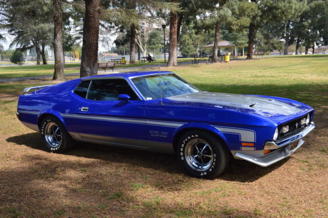 no reserve 1971 ford mustang 351 boss 302 boss 429 boss gt fastback shelby for sale ford. Black Bedroom Furniture Sets. Home Design Ideas