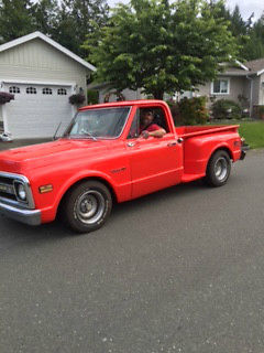 Rare 1970 Chevy Stepside 350 Crate Motor For Sale