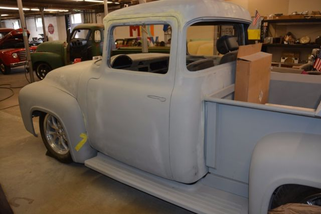 56 Ford F100 Pickup With 5 Quot Cab Extension 20125 0 Coyote