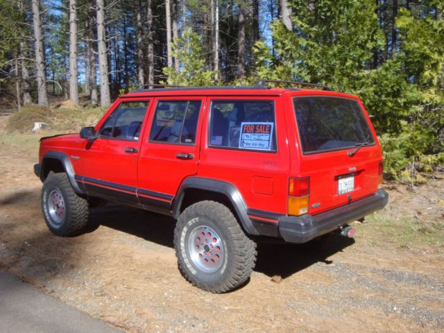 39 93 jeep cherokee sport 4x4 for sale jeep cherokee 1993 for sale in pollock pines california. Black Bedroom Furniture Sets. Home Design Ideas