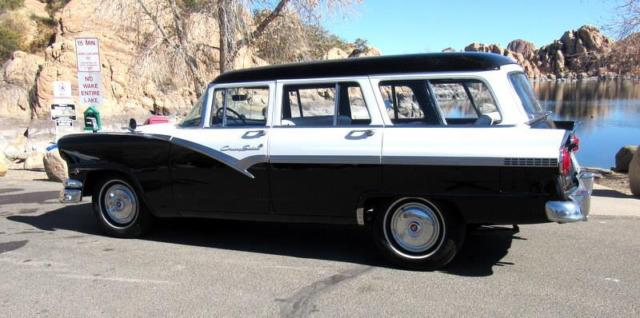 100 fully restored 1956 ford country sedan 8 passenger. Black Bedroom Furniture Sets. Home Design Ideas