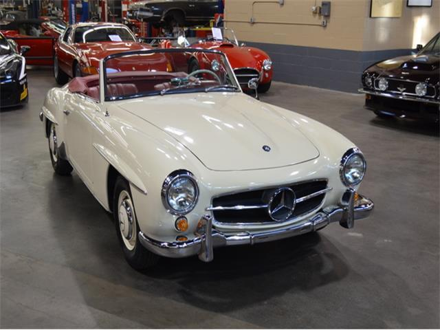 190 sl roadster restored collector owned for sale for Mercedes benz huntington phone number