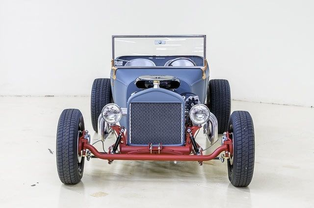 1923 Ford T Bucket 843 Miles Blue Grey 350 Ci Auto For