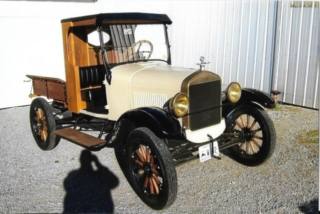 1926 ford model t pickup truck 4 cyl 3 speed manual transmission rwd for sale ford model t. Black Bedroom Furniture Sets. Home Design Ideas
