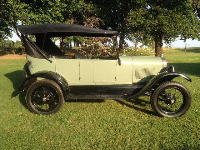 1926 model t ford touring car for sale ford model t touring 1926 for sale in crescent. Black Bedroom Furniture Sets. Home Design Ideas