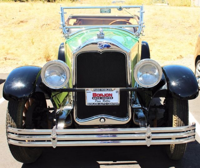 1928 BUICK ROADSTER CONVERTIBLE RESTORED CALIFORNIA CAR