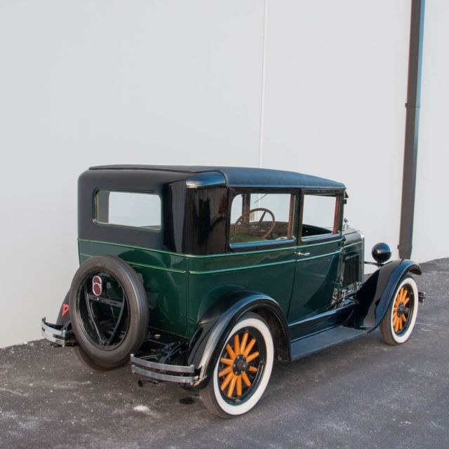 1928 chevrolet model ab two door sedan cosmetically for 1928 chevrolet 2 door sedan