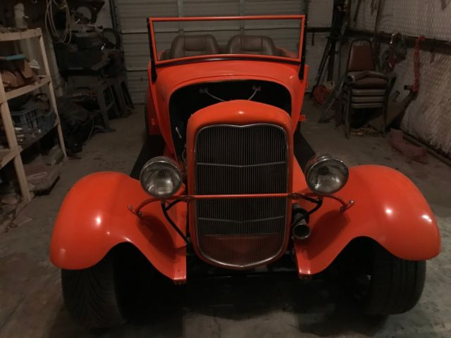 1928 Ford Model A Roadster, Fiberglass full fendered built from