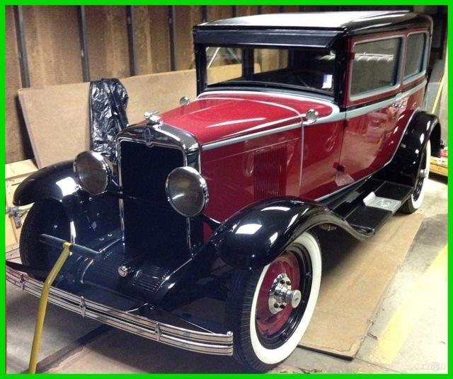 1929 Chevrolet AC Coach Used Manual RWD, Chevy, Garage