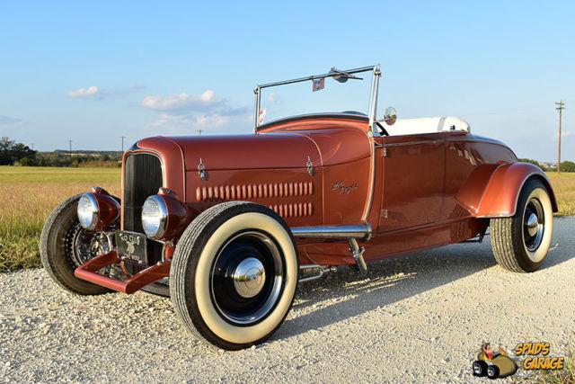 1929 Ford Hi-Boy Roadster Brookville Steel Flathead V8 C4