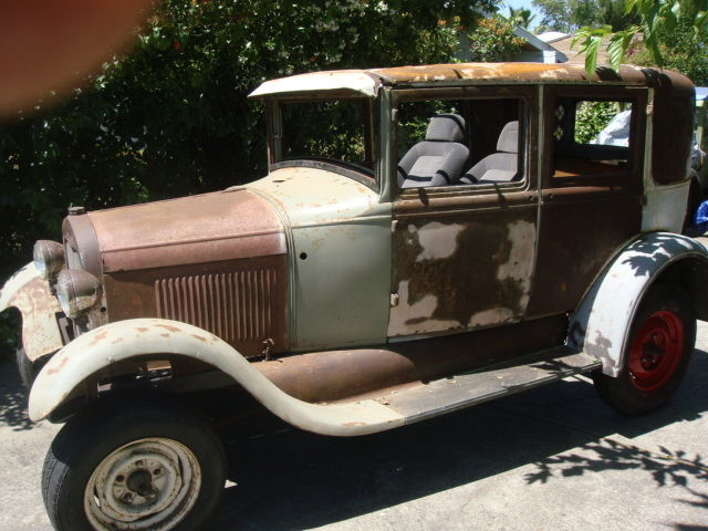 Ford Model A Fordor Body Title Hot Rat Rod Scta Project Sedan Chassis
