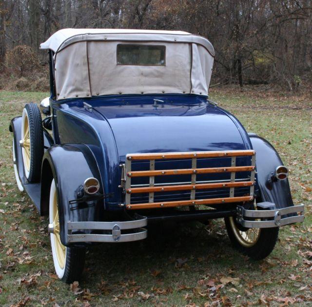 1929 Ford Model A Roadster Deluxe 1928 1930 1931 Survivor