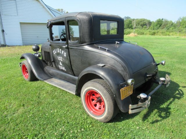 1929 ford model a special coupe drive restore rat rod project or barn find for sale ford. Black Bedroom Furniture Sets. Home Design Ideas