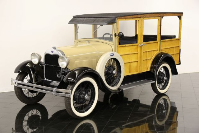 1929 Ford Model A Woody Station Wagon for sale - Ford