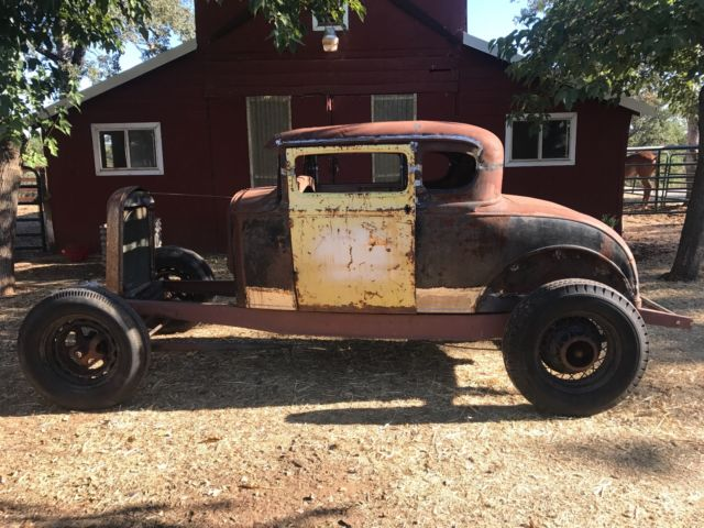 1930 1931 ford coupe hot rod project for sale ford model a 1930 for sale in anderson. Black Bedroom Furniture Sets. Home Design Ideas