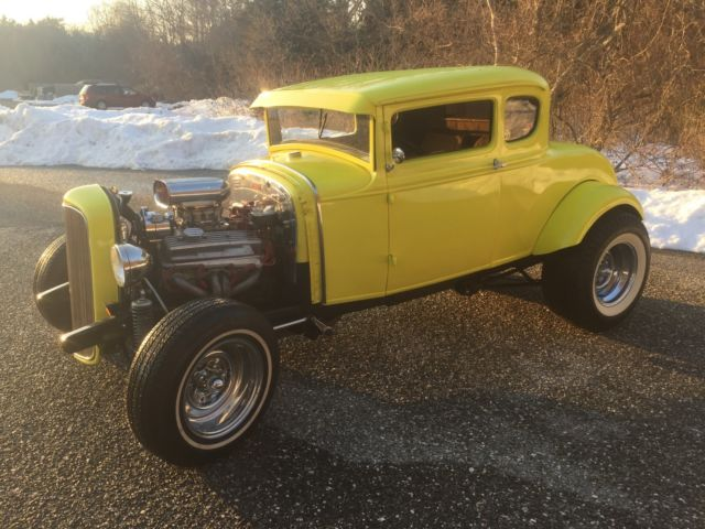 1930 ford 5 window coupe steel 1932 grill 383 alum head for 1930 ford 5 window coupe for sale