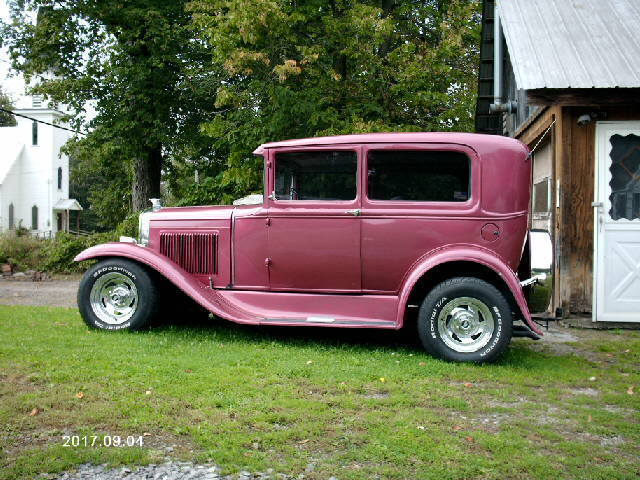 1930 ford model a 2 door sedan street rod hot rod rat rod for Ford models nyc