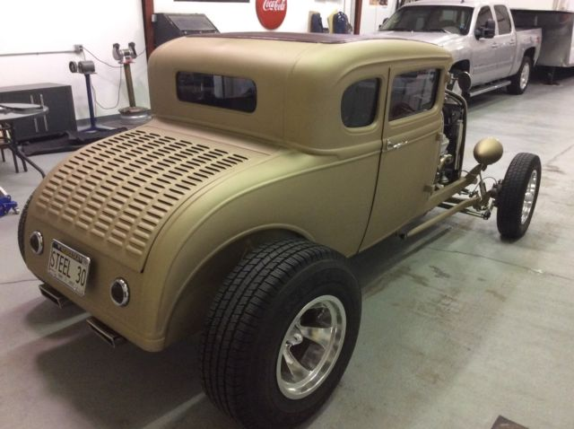 1930 ford model a 5 window coupe all steel hotrod for for 1930 ford coupe 5 window