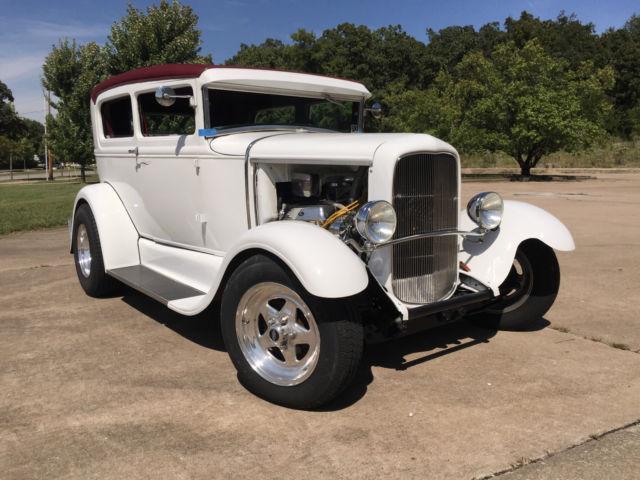 1930 Ford Model A Quot Tudor Quot Sedan Street Rod Custom For