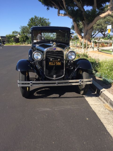 1930 ford model a coupe original henry ford great driver