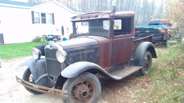 1930 ford model a pickup barn find project for sale ford model a 1930 for sale in grand. Black Bedroom Furniture Sets. Home Design Ideas