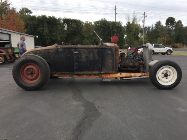 1930 ford model a roadster rat rod hot rod for sale. Black Bedroom Furniture Sets. Home Design Ideas