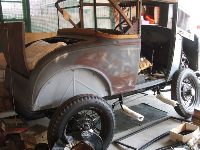 1930 ford model a sport coupe restored project w parts to complete for sale ford model a 1930. Black Bedroom Furniture Sets. Home Design Ideas