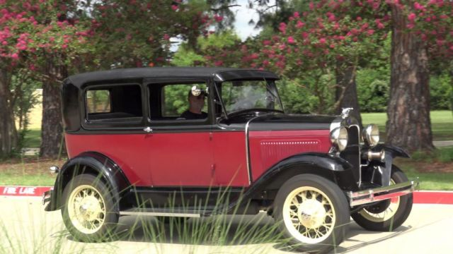 1930 Ford Model A Tudor Sedan With Updates