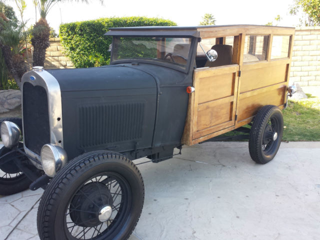 1930 Ford Model A Woody Wagon Woodie Hot Rod Rat scta 1932 1931 1929 Roadster for sale - Ford