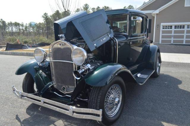 1930 model a ford 5 window coupe on a chromed jaguar xke for 1930 model a 5 window coupe for sale