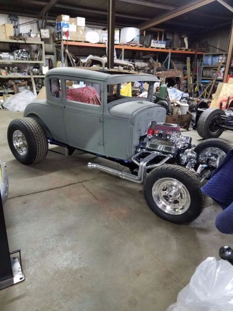 1930 Model A Ford Coupe Original Steel Body Street Rod Hot