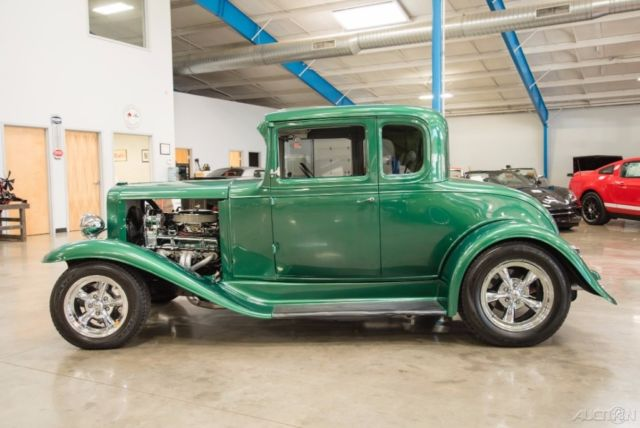 1931 chevrolet 5 window coupe steel body chevy 350 cid v8 for 1931 chevy 5 window coupe