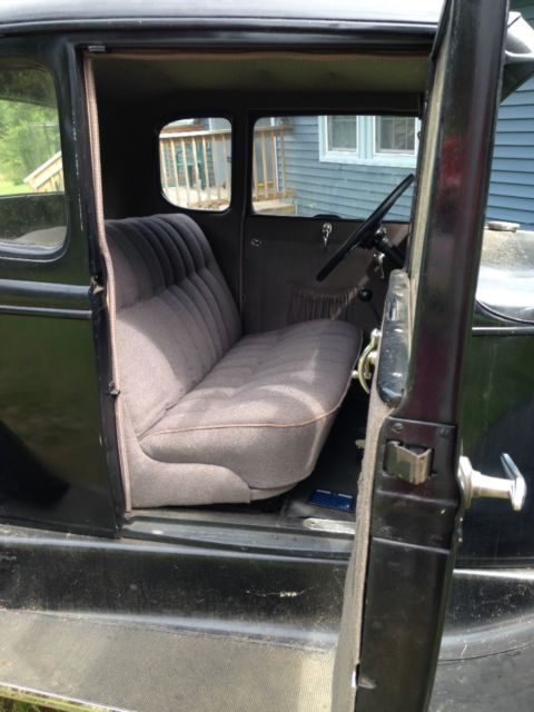 1931 ford coupe nice interior new tires rust free runs could use paint for sale ford model a. Black Bedroom Furniture Sets. Home Design Ideas