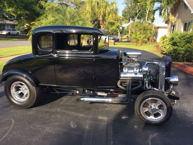 1931 ford model a 5 window coupe all steel high boy hot. Black Bedroom Furniture Sets. Home Design Ideas