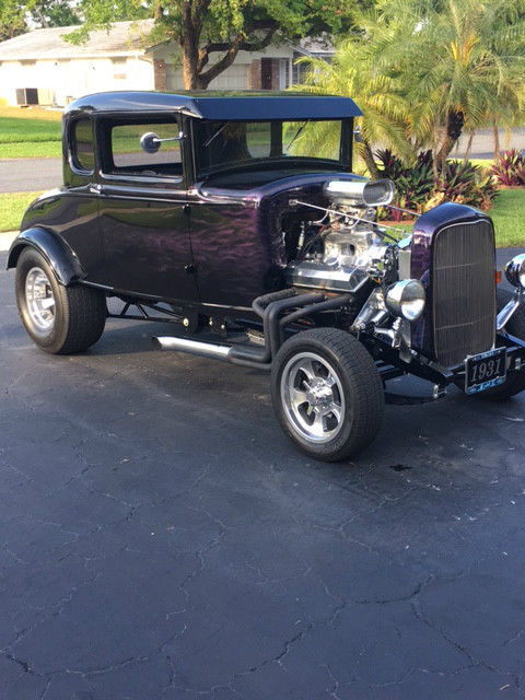1931 ford model a 5 window coupe all steel high boy hot for 1931 ford model a 5 window coupe