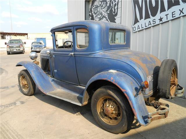 1931 ford model a coupe 5 window project no reserve by gas monkey garage for sale ford. Black Bedroom Furniture Sets. Home Design Ideas