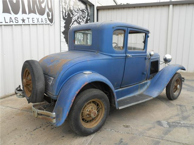 1931 ford model a coupe 5 window project no reserve for 1931 ford model a 5 window coupe