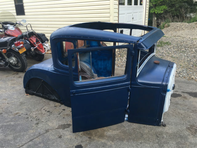 1931 ford model a coupe body rat hot street rod custom flathead steel look rare for sale ford. Black Bedroom Furniture Sets. Home Design Ideas
