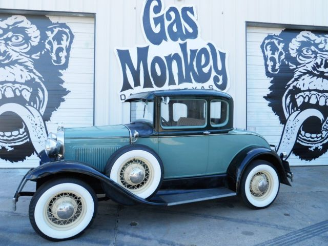 1931 Ford Model A Coupe Runs And Drives offered by Gas