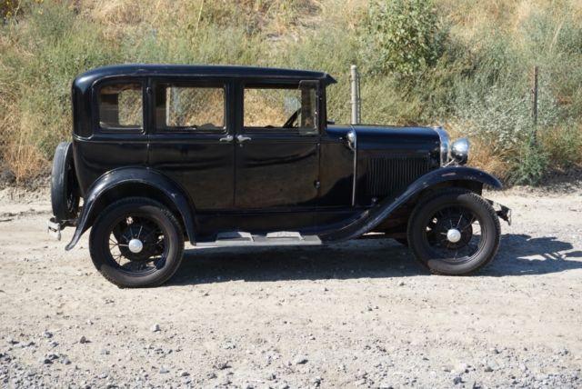1931 ford model a fordor 4 door sedan survivor for sale for 1931 ford model a 4 door