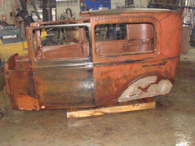 1931 Ford Model A Tudor Body Fenders New Wood Title