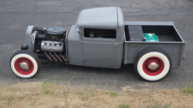 1931 ford pick up truck desoto hemi engine old school hot rod 3 000 mile build for sale ford. Black Bedroom Furniture Sets. Home Design Ideas