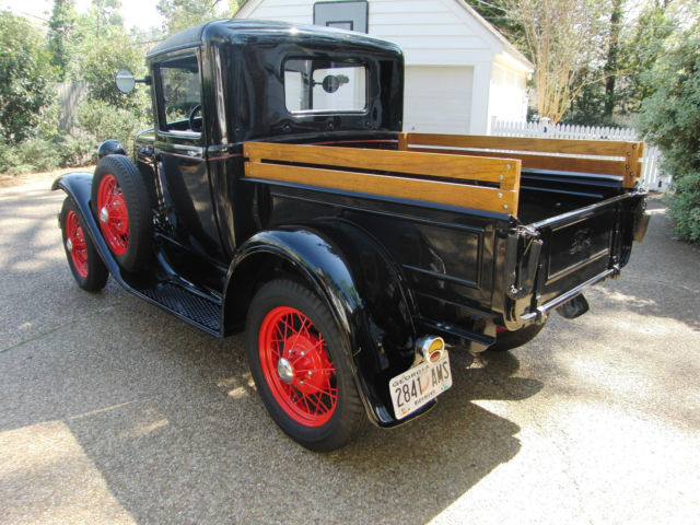 1931 model a ford closed cab pickup no reserve for sale ford model a pickup 82 b 1931 for. Black Bedroom Furniture Sets. Home Design Ideas