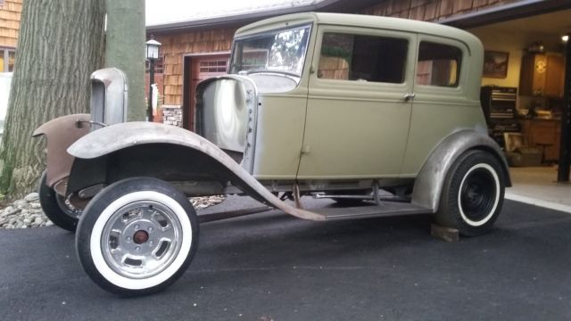1931 model a ford vicky 1932 victoria coupe hot rod gasser 32 ford project car for sale - Ford