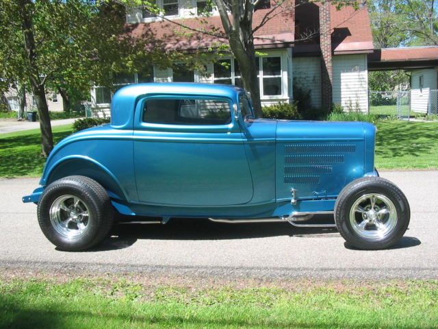 1932 ford 3 window coupe street rod for sale ford other for New windows for sale