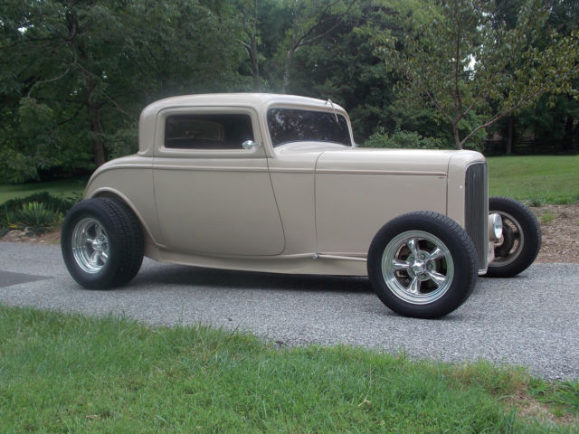 1932 ford 3 window coupe street rod 350 chevrolet 200r4 for 1932 chevy 5 window coupe