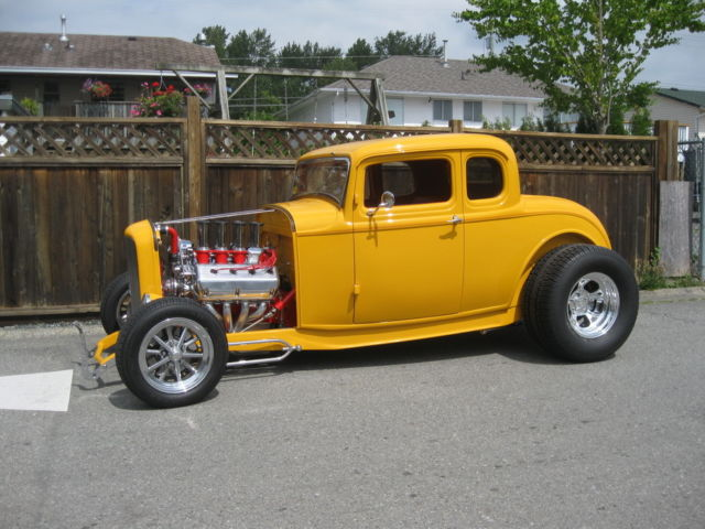 1932 ford 5 window coupe 39 streetrod fuel injected hemi for 1932 ford five window coupe for sale