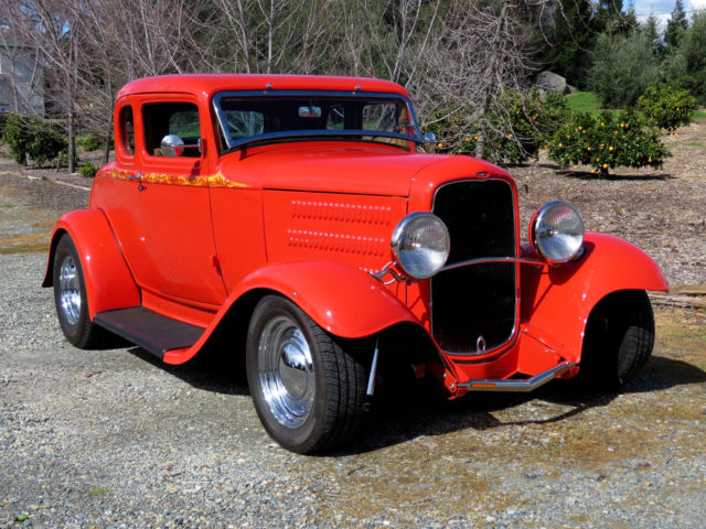 1932 ford 5 window coupe 302 c4 a c full for 1932 ford 5 window coupe for sale